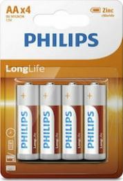 PHILIPS 2AA 4TM (LONG LIFE)