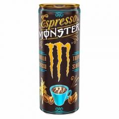MONSTER COFFEE ESPRESSO VANILLA 250ML