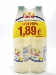 ΒΙΚΟΣ ΒΙΚΟΣ ΛΕΜΟΝΑΔΑ 1,5ΛΤ (ΠΡΟΣΦΟΡΑΣ 1,89€)